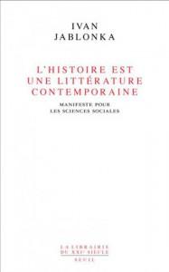 Jablonka - histoire littérature contemporaine